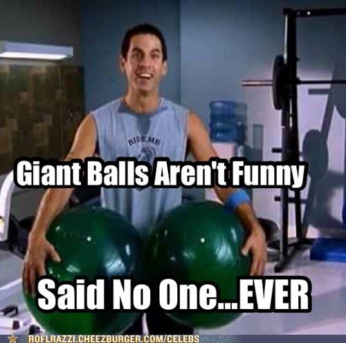 said no one ever giant ball scrubs robert maschio not funny - 6877349632