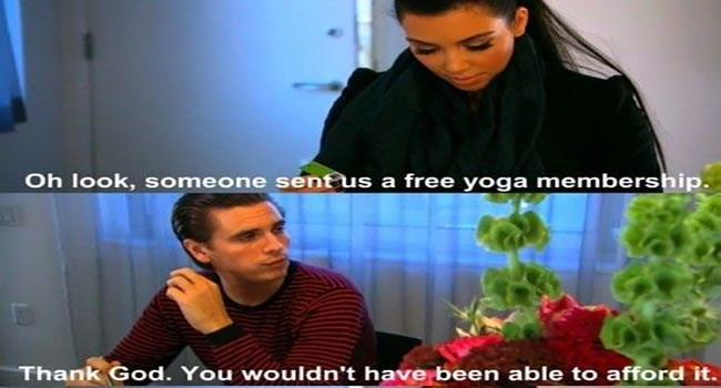 Scott Disick funny on keeping up with the kardashians