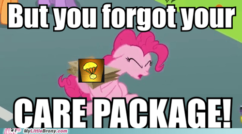 call of duty,care package,pinkie pie