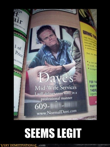 wtf midwife service dave - 6877567232