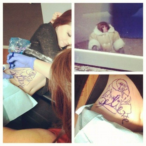 ikea monkey lat tat g rated Ugliest Tattoos - 6877591808