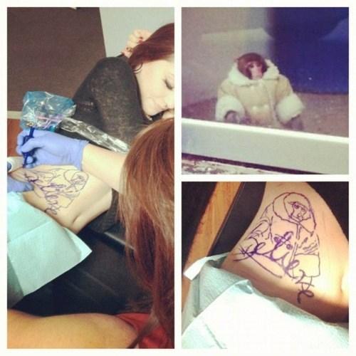 ikea monkey lat tat g rated Ugliest Tattoos - 6877591808