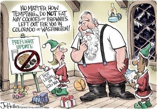 legalization christmas Colorado marijuana washington santa claus - 6877605376