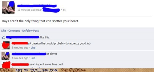 heart baseball bat facebook - 6877825024