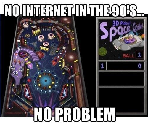 nostalgia the 90s pinball - 6877830144