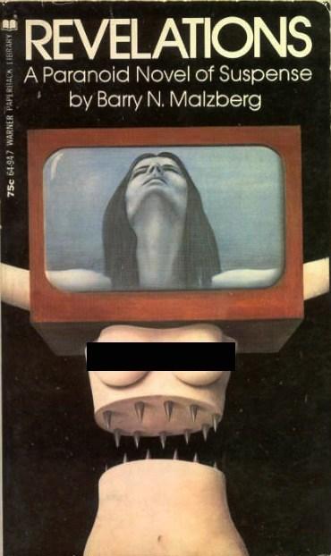 half wtf cover art spikes sci fi books bewbs revelations - 6877852928