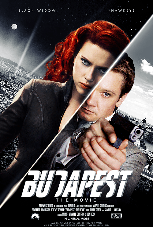 scarlett johansson,poster,Movie,actor,fake,The Avengers,Jeremy renner