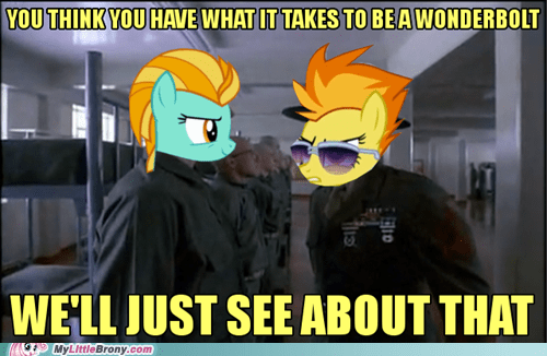 spoilerlolololol full metal jacket wonderbolts - 6877941248