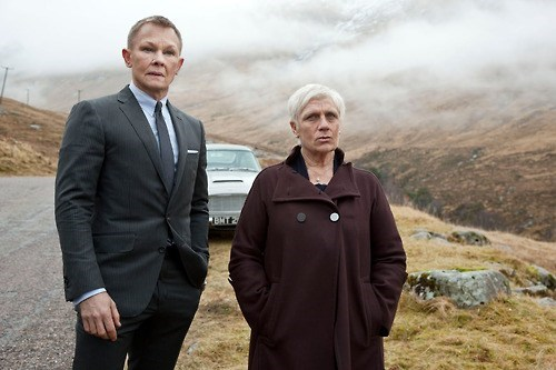 Daniel Craig actor james bond 007 face swap judy dench funny - 6877967872