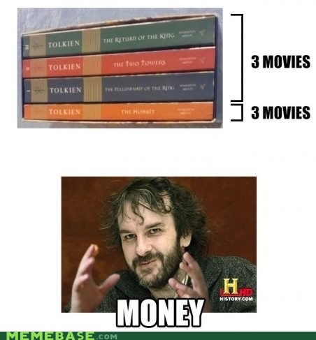 peter jackson,The Hobbit,money