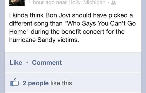 facebook bon jovi hurricane sandy - 6878025984