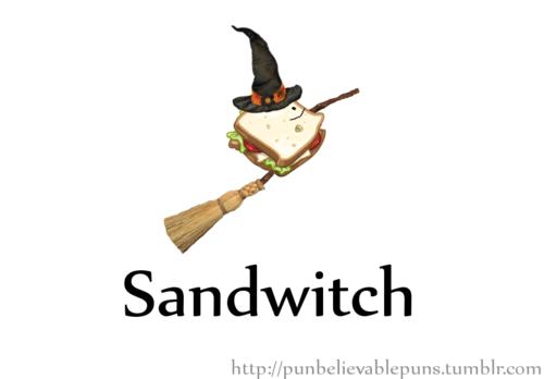 witch,literalism,sand,sandwich,prefix,suffix