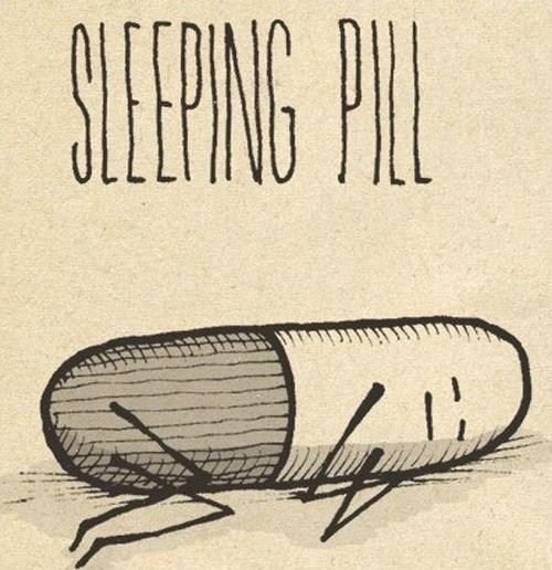 sleeping pill literalism pill double meaning sleeping