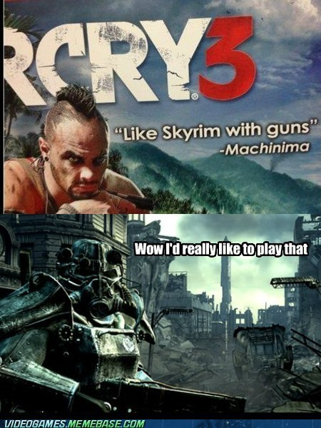 fallout far cry 3 Skyrim - 6878104320