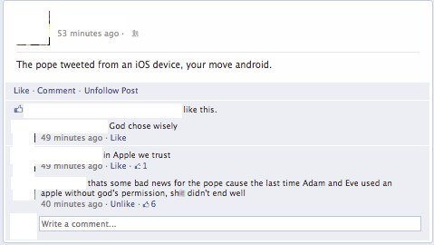 the pope,adam and eve,faith,ipad,ios