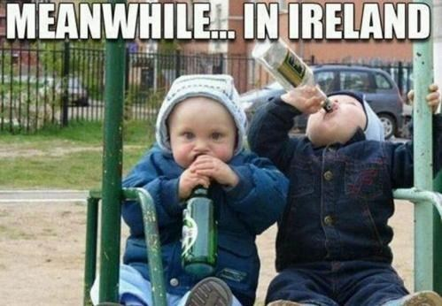 Meanwhile,Ireland,tanked toddlers