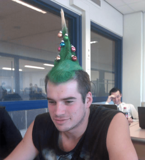 christmas mistletoe tree mohawk - 6878149888