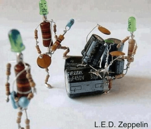 led zeppelin,literalism,l-e-d,double meaning