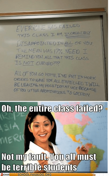 disappointed scumbag teacher failed teachers - 6878232832