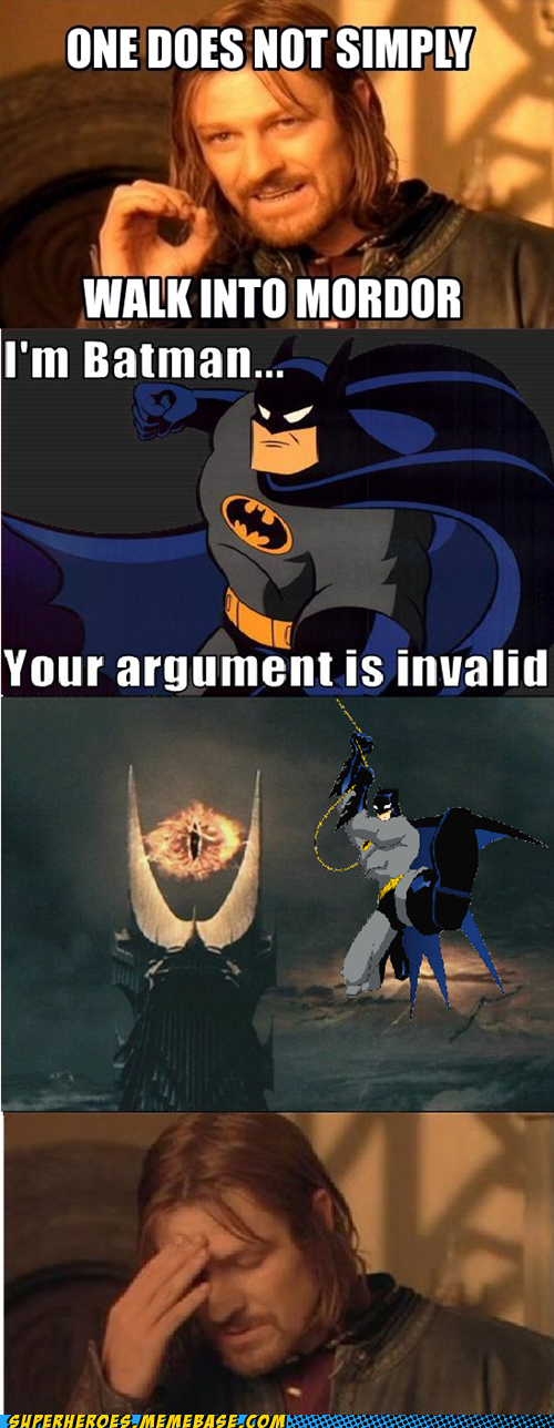 mordor,argument,batman,invalid