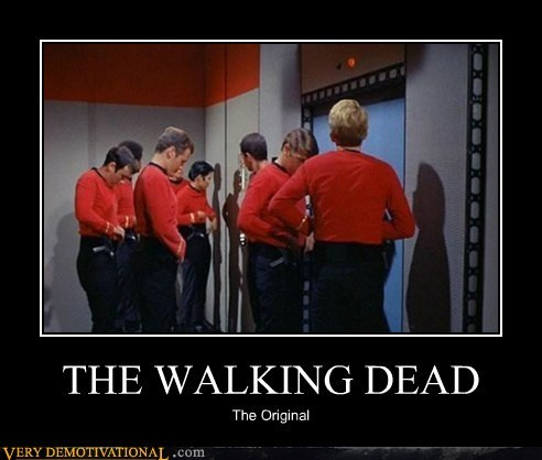 wtf The Walking Dead TV Star Trek - 6878338304