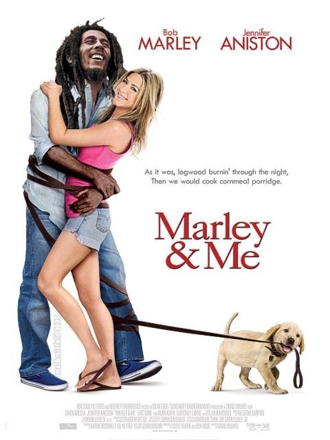 bob marley jennifer aniston marley and me