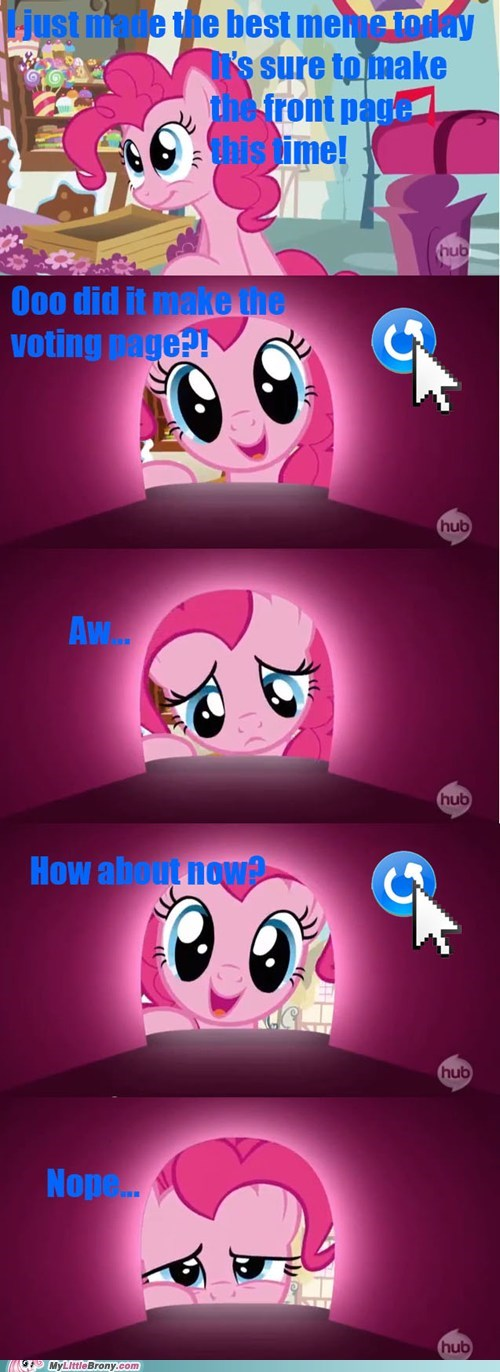 my little brony voting page pinkie pie - 6878522112