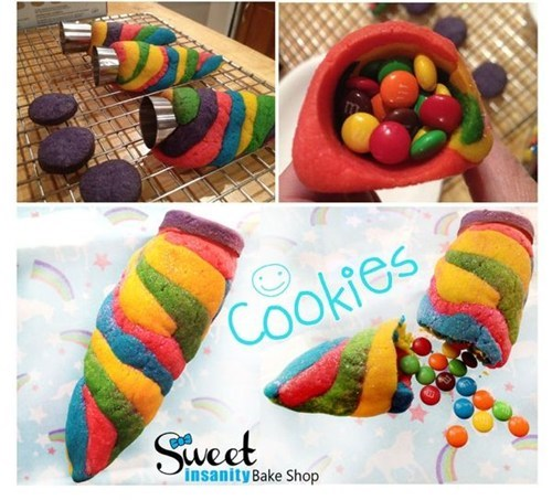 unicorn candy sweets horn cookies g rated win - 6878672640