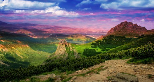 color hills landscape mountains pretty colors hypercolor destination WIN! g rated