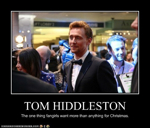 christmas,want,present,tom hiddleston,fangirls