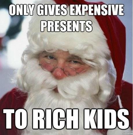 rich kids,santa