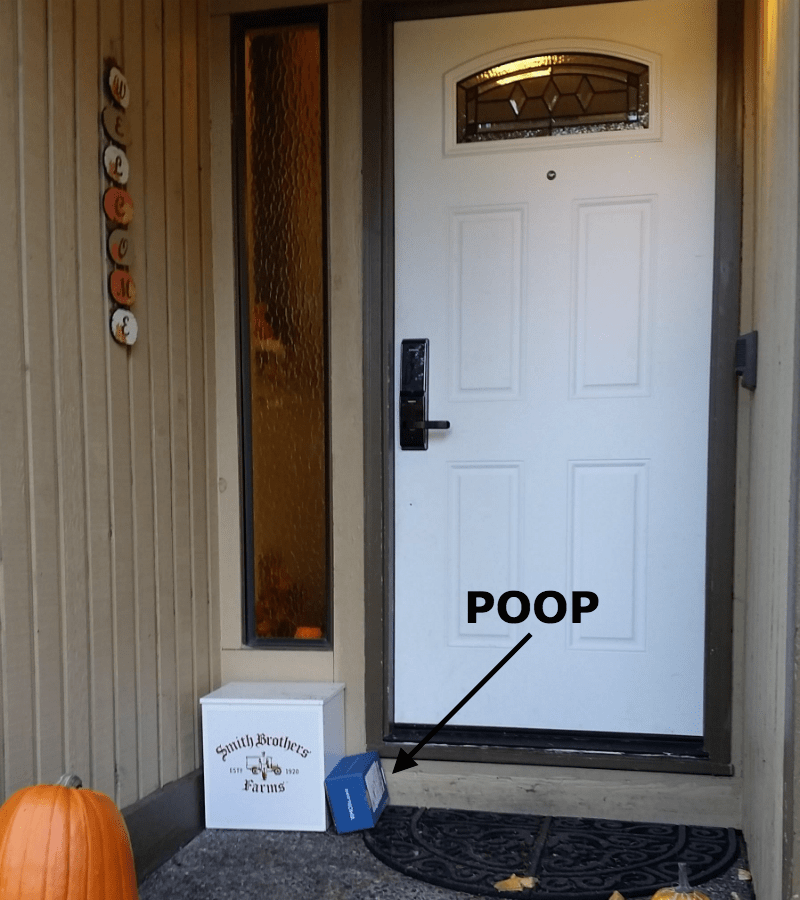 poop list gross trolling theft - 687877