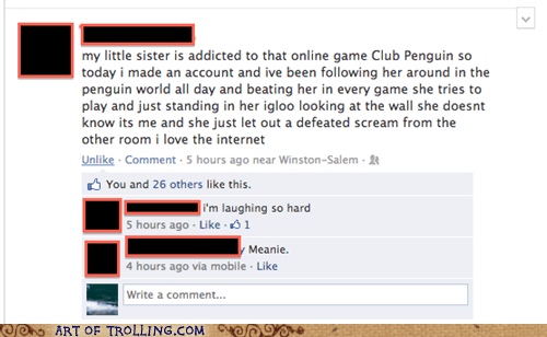 siblings facebook sister laughing video games - 6878965504