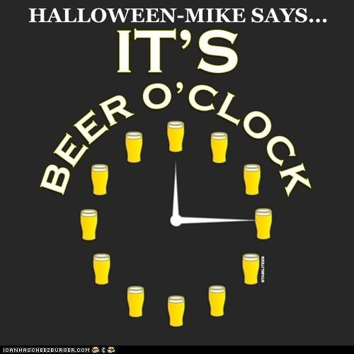 HALLOWEEN-MIKE SAYS...