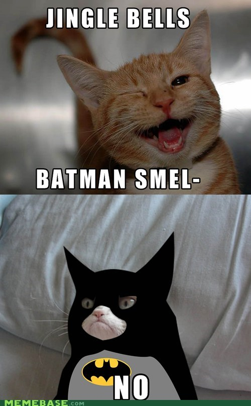 jingle bells,batman,Grumpy Cat