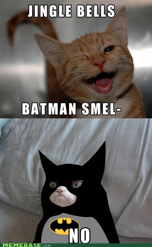 jingle bells batman Grumpy Cat - 6879183360