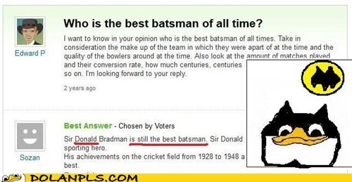 batsman,cricket,yahoo answers,batman