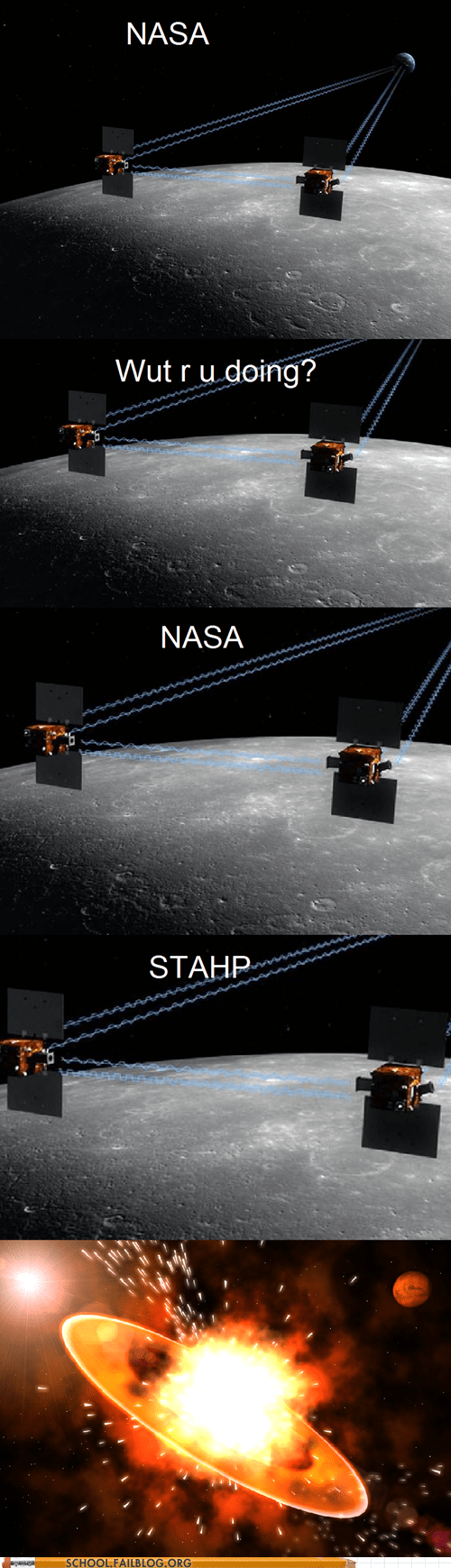 nasa stahp the moon Astronomy science space - 6879591936