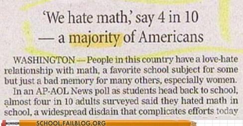 hating math majority wrong math - 6879851520