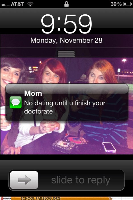 compromise,iPhones,doctorate