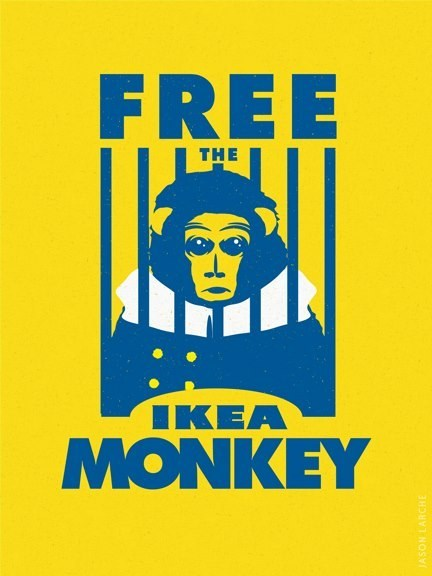 ikea monkey Fan Art free - 6880383744