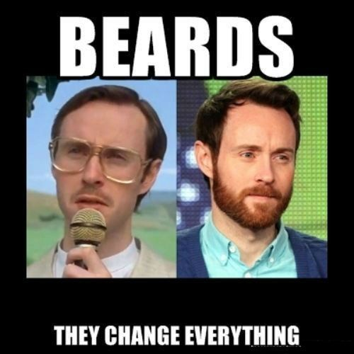 napolean dynamite,beards,poorly dressed