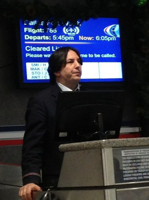 american airlines,snape,Severus Snape,professor snape,monday thru friday,g rated,Hall of Fame,best of week