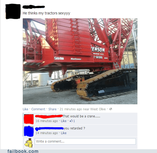 tractor,she thinks my tractor's sexy,crane
