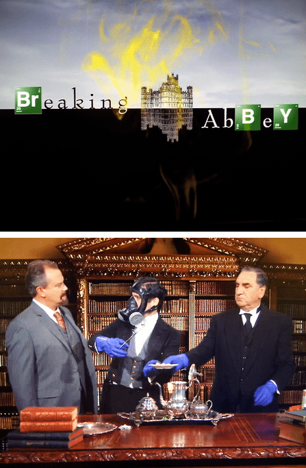 breaking bad downton abbey TV funny - 6880846848