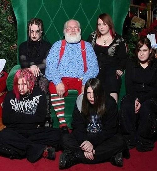 santa goth kids - 6880889856