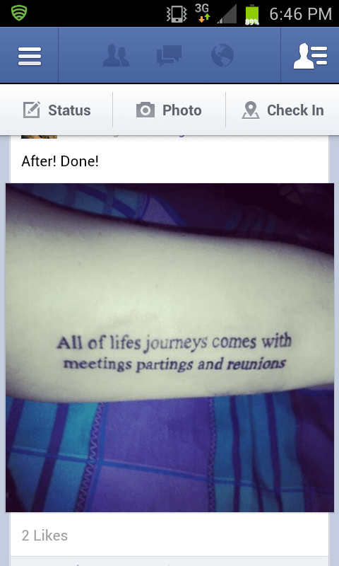 misspelled tattoos,facebook,g rated,Ugliest Tattoos