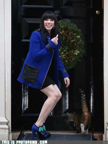 carly rae jepsen Cats celeb