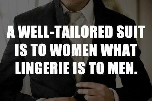 suits lingerie men vs women