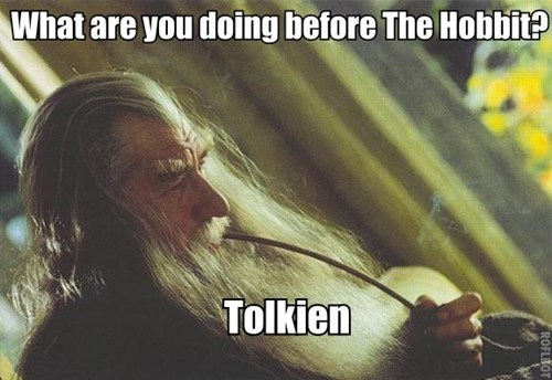 marijuana tolkien The Hobbit toking - 6881041920